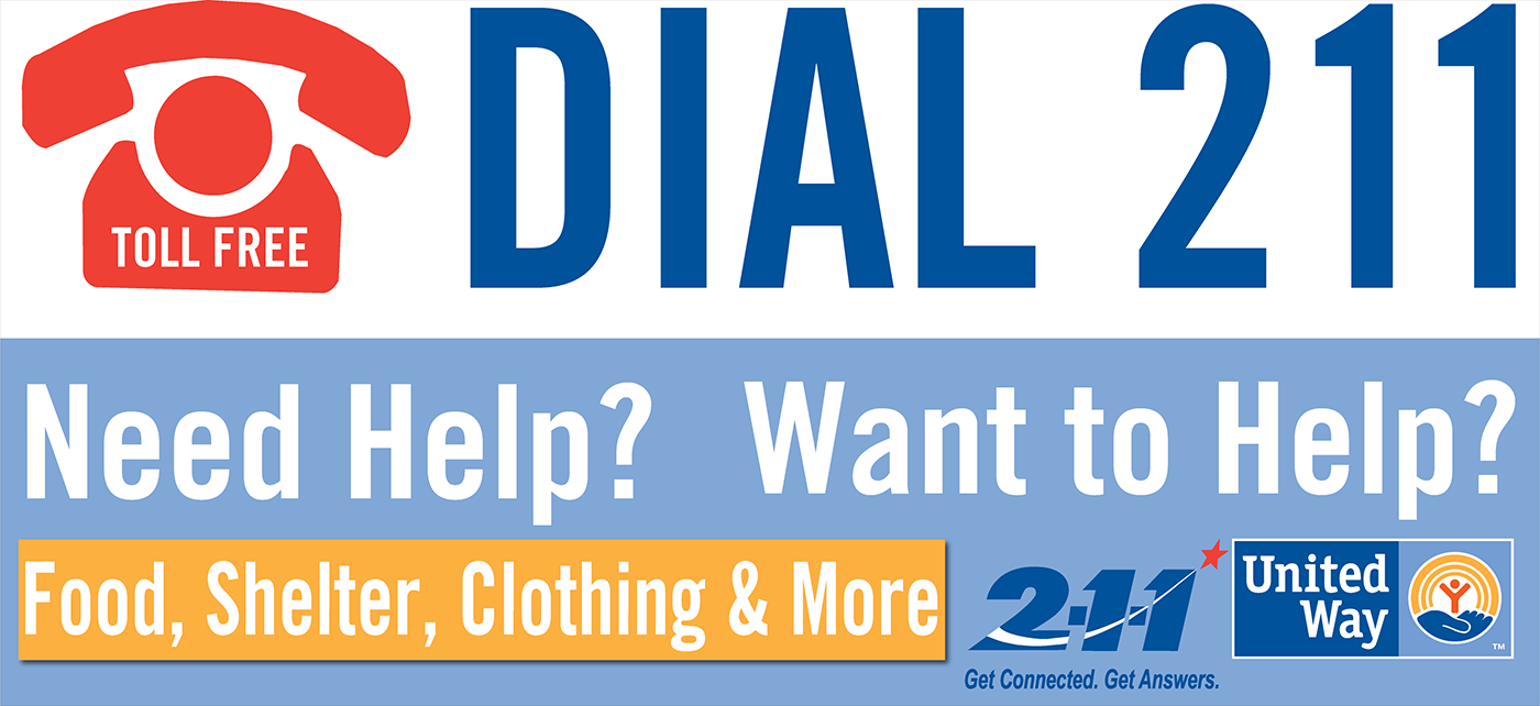 United Way: First Call for Help Logo