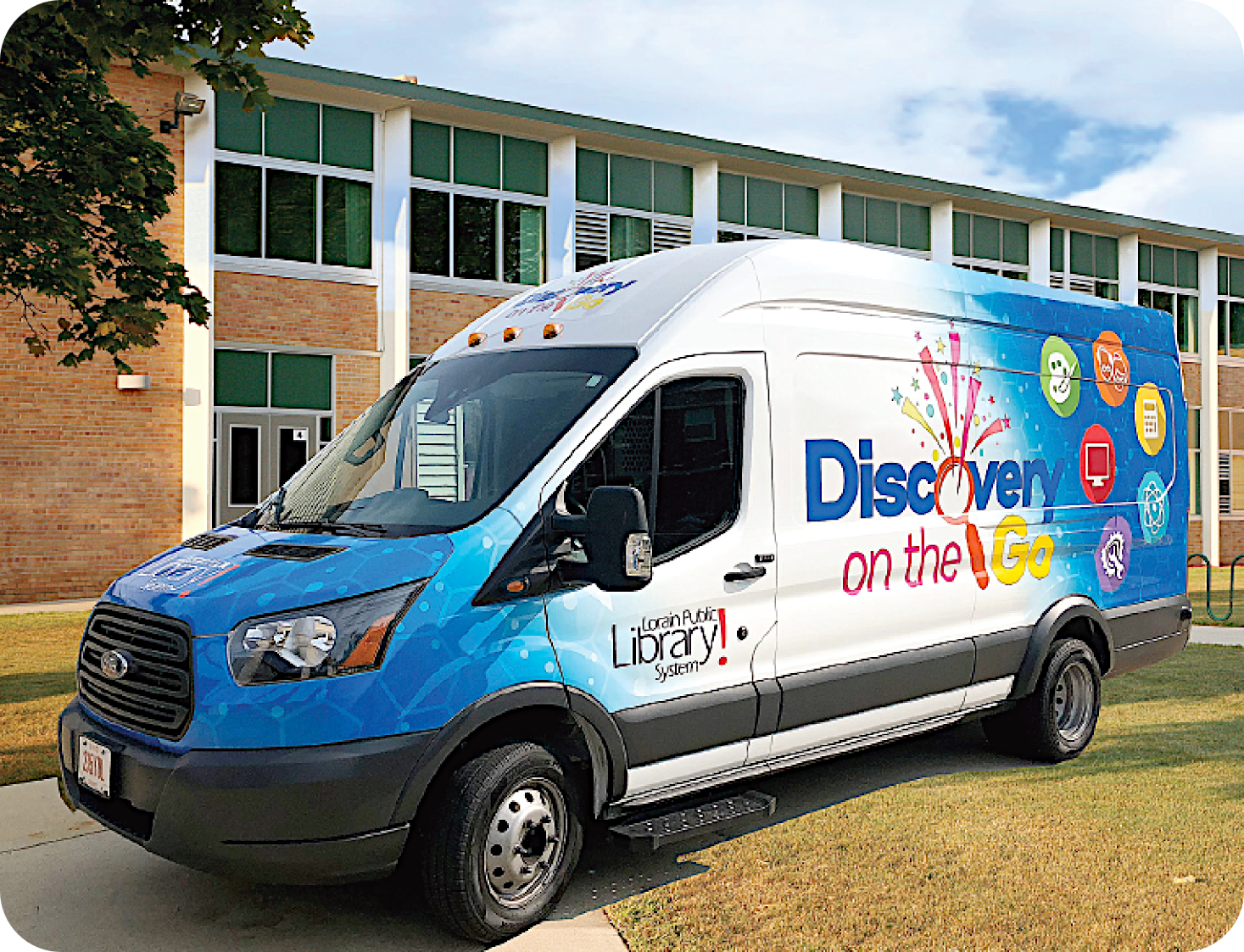 Photo of the Discovery on the Go Van