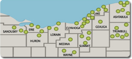 CLEVNET Library Locations