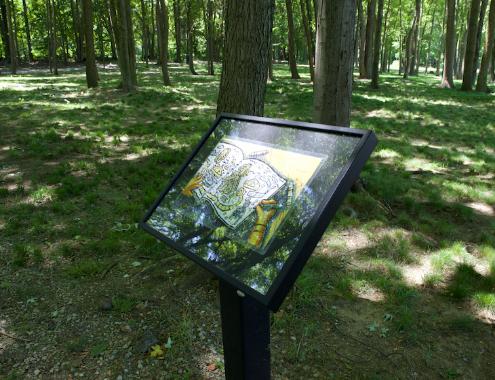 Storybook Trail MarkerPhoto