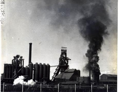 Photo of Lorain Steel Mill