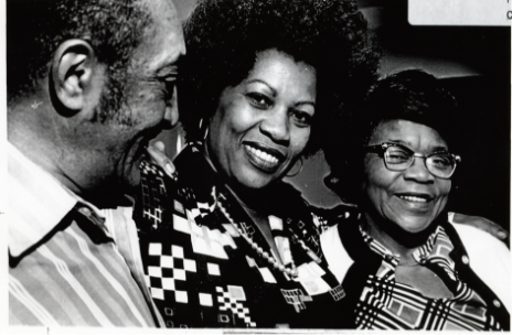 Photo of Toni Morrison and Her Family