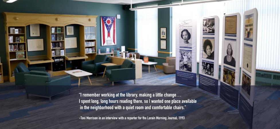 Image of Toni Morrison Room